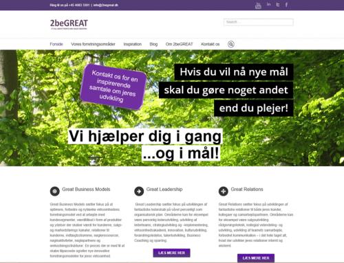 Velkommen til vores nye website